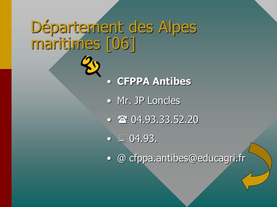 Département des Alpes maritimes [06]